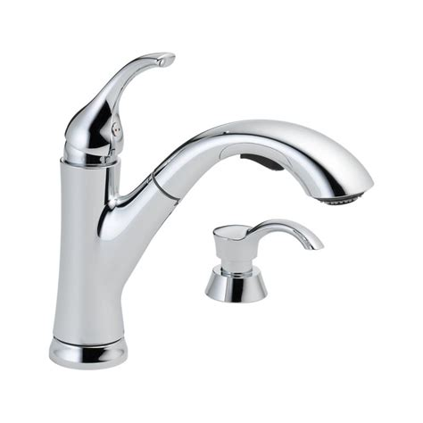 Grohe Kitchen Faucet Reviews by Faucet Com 16932 Sd Dst In Chrome By Delta