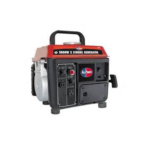 home generators lowes shop all power america 850 running watts portable