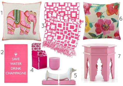 pink home decor how to decorate home with pink accessories interior