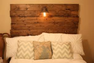 Wood Headboard Diy Southern Diy Diary Wood Headboard How To
