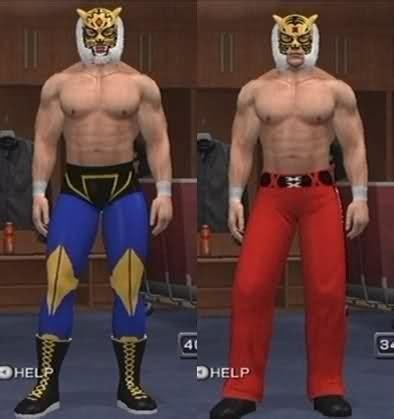 cawsws tiger mask caw  sd  raw