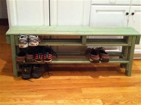 pallet shoe bench diy pallet shoe storage bench design ideas pallets designs