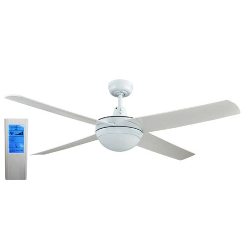 lost ceiling fan remote rotor 52 inch led ceiling fan with abs blades in white