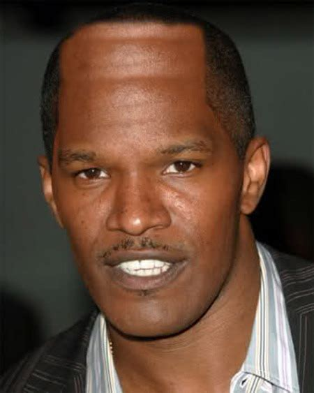 jamie foxx denies having hairline transplant surgery bossip