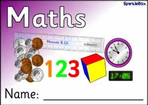 maths book cover template editable pupil book labels and book covers for primary
