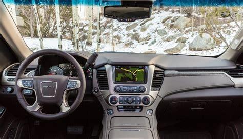 2020 Gmc Interior by 2020 Gmc Yukon Denali Xl Concept Release Interior Specs