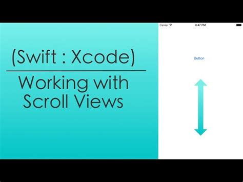 xcode swift autolayout uiscrollview and autolayout xcode 6 doovi