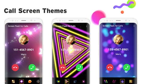 call themes apps color phone love themes call screen android apps on