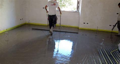 come fare un massetto per pavimento impianti di riscaldamento a pavimento quale massetto