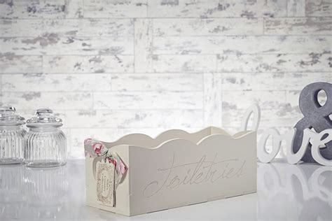 Shabby Chic Bathroom Accessories Uk Shabby Chic Wooden Toiletries Toilet Paper Rack Holder Bathroom Accessories Ebay