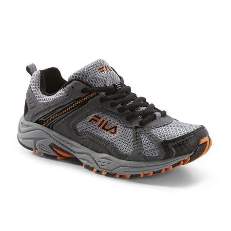 Ardilez Marendaz Orange Grey Running Shoes fila s legendary trail running athletic shoe grey orange shop your way shopping