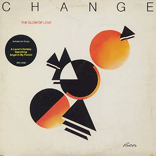 jp change change the glow of lp warner bros 中古レコード通販 大阪