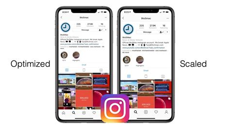 instagram adds support    display resolutions