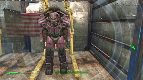 fallout 4 power armor paint colors locations guide