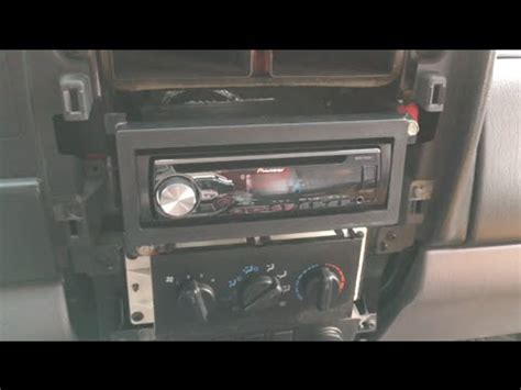1997 2001 Jeep Cherokee Xj Stereo Install Pioneer Deh