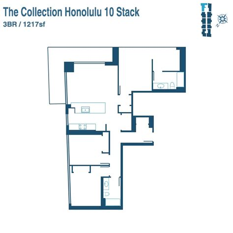 floor plan collection collection honolulu condos for sale a new kakaako condo
