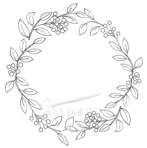wreath coloring page fall wreath coloring pages kit wreaths and embroidery