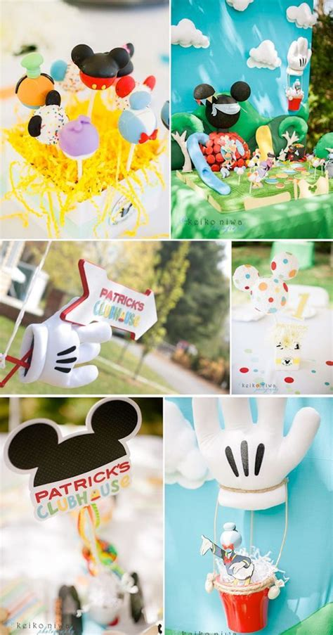 Mickey Mouse Clubhouse 1st Birthday Decorations by Mickey Mouse Clubhouse Baby Boy Birthday Ideas