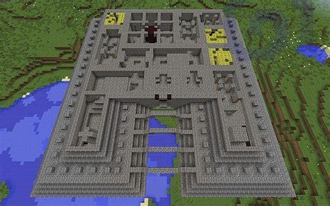 Floor Plans Blueprints by Ocean Monument Minecraft Project