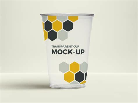transparent cup mockup psdblast