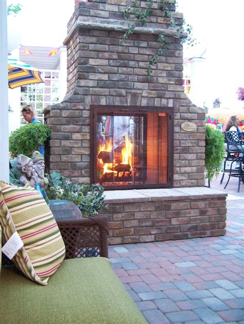 Outdoor Two Sided Fireplace by 2 Sided Outdoor Fireplace Mi Casa In The Sky