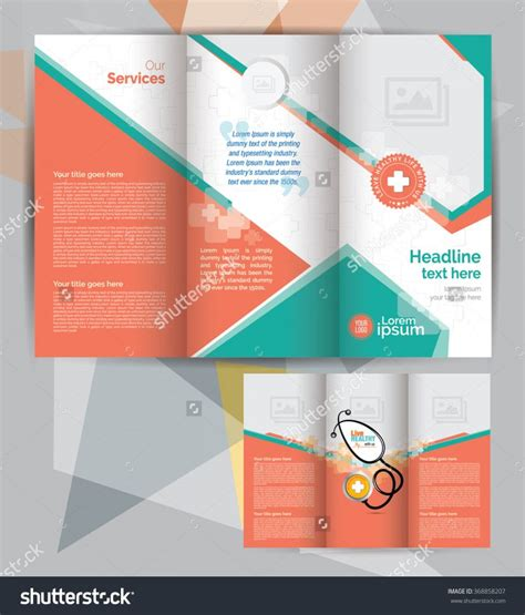tri fold brochure indesign template free 3 best agenda