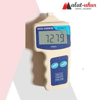 Digital Tachometer Laser Pengukur Putaran Rpm Roda Mesin Motor Kipas 1 alat ukur laser jenis tachometer kl 0071