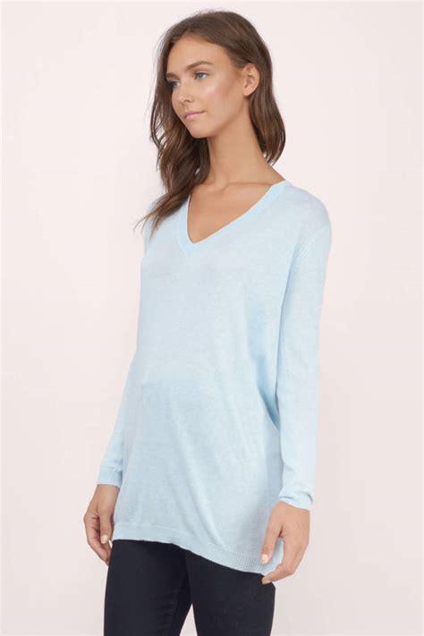 Light Blue Sweater by Light Blue Sweater Blue Sweater V Neck Sweater 16 00