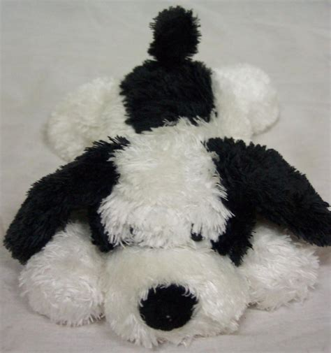 puppy stuffed animal soft black and white puppy 8 quot plush ad 3359964 addoway