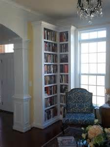 Corner Built In Bookshelves Built In Cabinetry 2013 Traditional Dc Metro By
