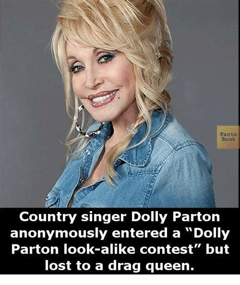 Books To Drag Around For That Smart Look by Facts Book Country Singer Dolly Parton Anonymously Entered