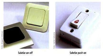 Saklar On Kecil mengenal kelengkapan instalasi listrik 19design
