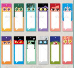 Free Bookmark Templates by Blank Bookmark Templates Free Printable Calendar