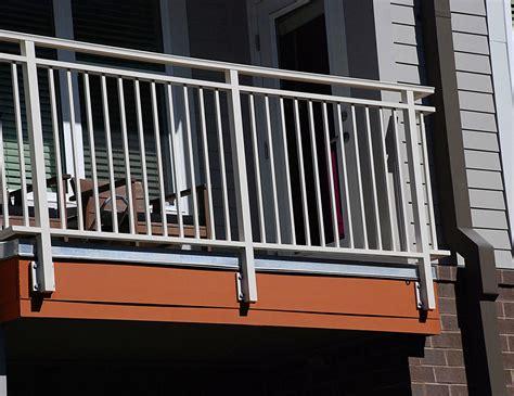 balcony railing aluminum balcony railing lofts at seigle point sc railing