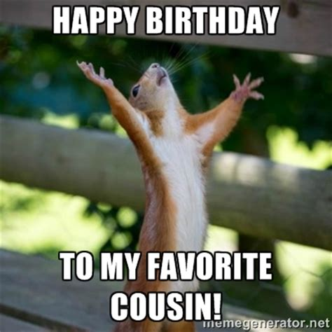 Happy Birthday Cousin Meme - best images collections hd for gadget windows mac android