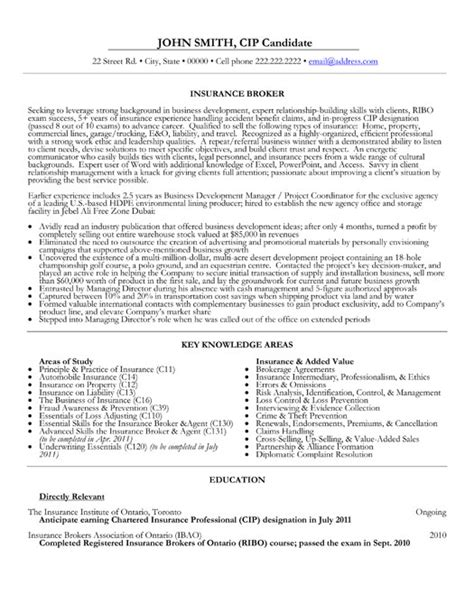 sle resume for insurance 28 images sle resume for qa