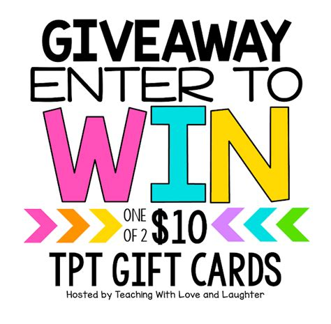 Can You Use Love To Shop Gift Card Online - teaching with love and laughter tpt gift card giveaway for bts 2017