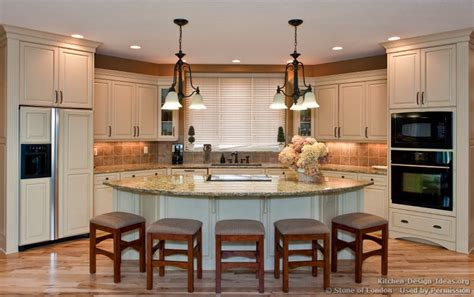 open kitchen design with island triangular kitchen islands with seating kitchen features an open plan layout and brown by