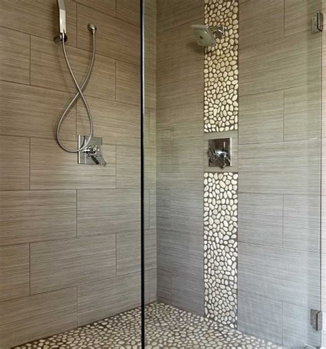 tiled walk in shower designs with modern style home
