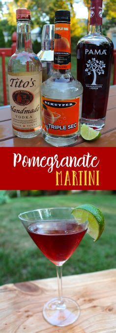 best pama pomegranate vodka recipe on pinterest