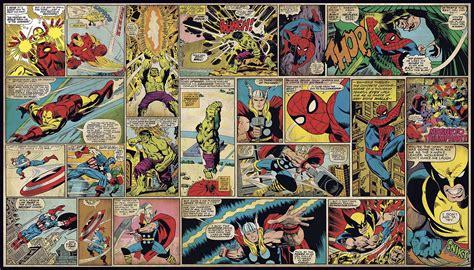 Dwell Studio Bedding Marvel Classics Comic Panel Xl Wallpaper Mural 10 5 X 6