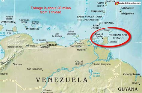 Where Is Trinidad And Tobago Located On The World Map by Mustang Music Calypso