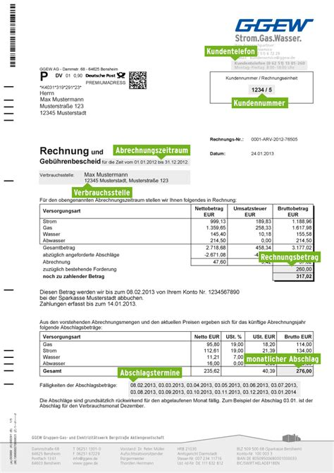 Vorlage Rechnung Umzug Ggew Ag Rechnungserkl 228 Rung
