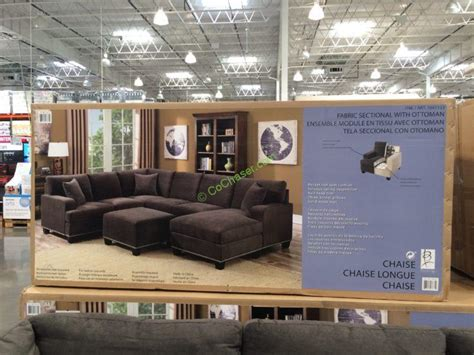 bainbridge fabric sectional with ottoman bainbridge fabric sectional with ottoman costcochaser