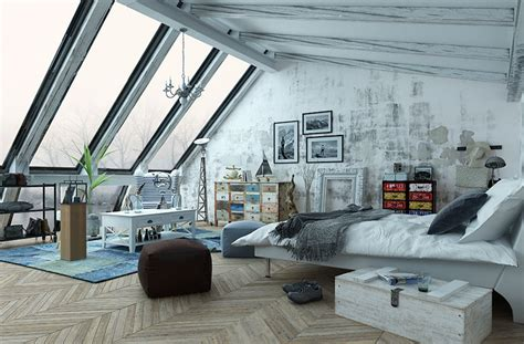 Stylish Loft Bedroom Ideas (Design Pictures)   Designing Idea
