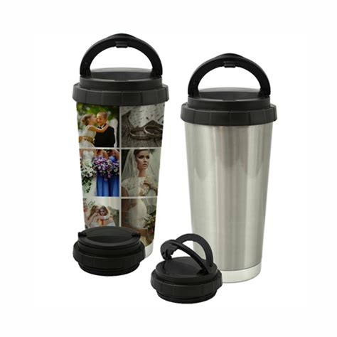 personalized stainless steel travel mugs custom photo