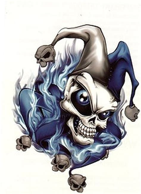 tattoo joker skull stunning joker skull tattoo design tattoos book 65 000