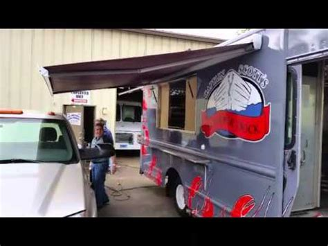 food truck awning awning for food trucks youtube