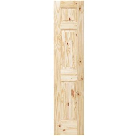 steves sons louver panel solid core pine interior slab steves sons summit 3 panel solid core knotty pine