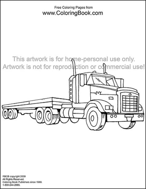 1000 images about coloring pages trucks on pinterest